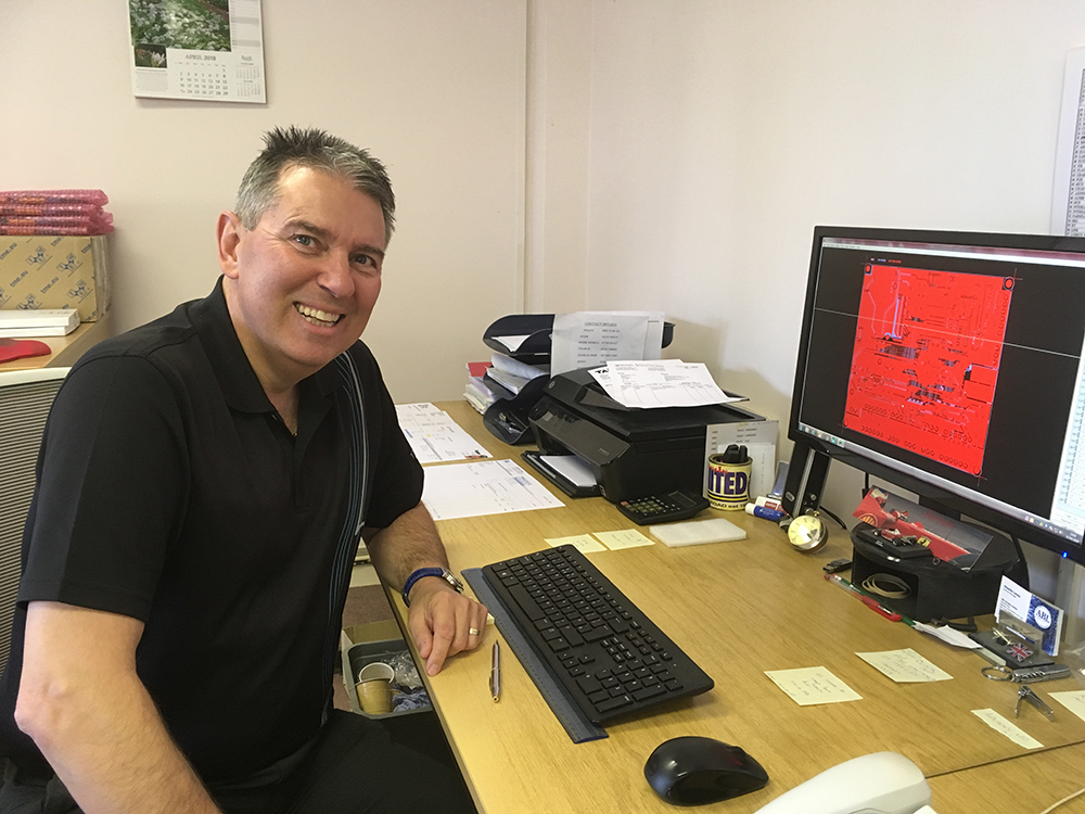 Charlie Lewis 30 years at ABL Circuits
