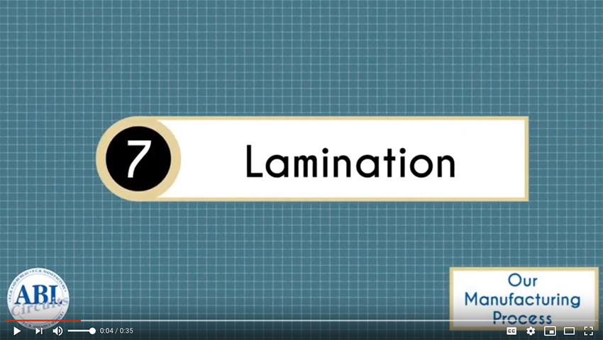 ABL Circuits PCB Manufacture Lamination