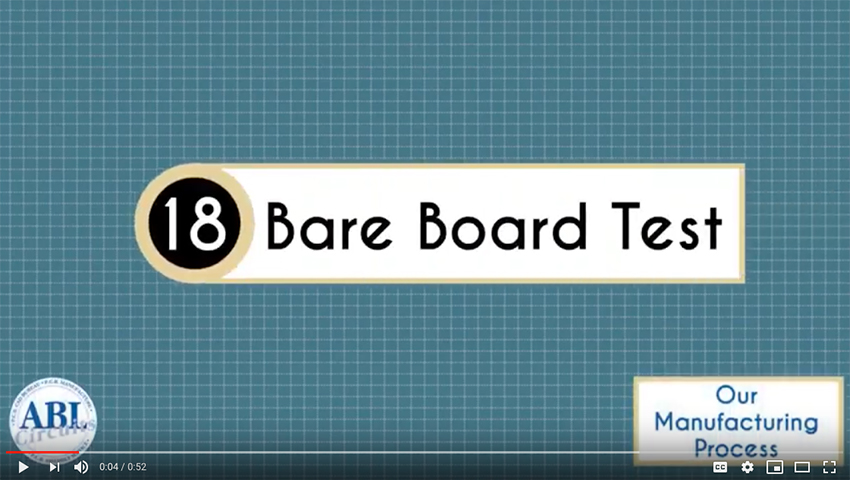 ABL Circuits PCB Manufacturing Bare Board Test