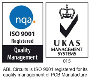 ISO 9001 PCB Manufacture and assembly for ABL Circuits