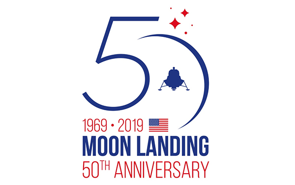 Moon Landing 50th Anniversary logo ABL Circuits