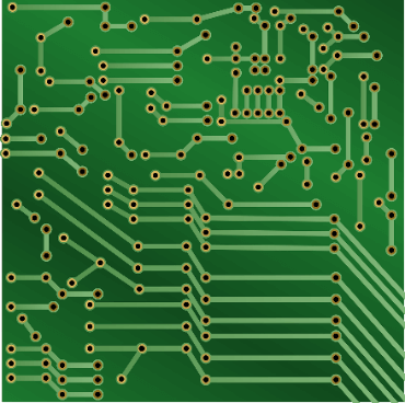 Green PCBs, a common sight but just one of many colour options
